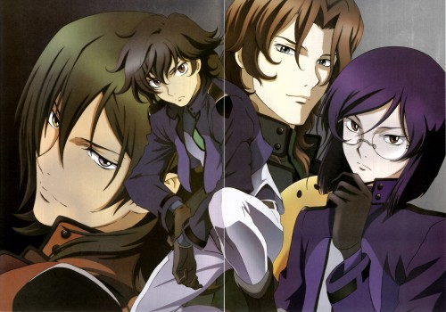 Mobile Suit Gundam 00, Lockon Stratos, Allelujah Haptism, Tieria Erde, Setsuna F. Seiei