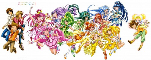Toei Animation, Yes! Precure 5, Smile Precure!, Kawamura Toshie Toei Precure Works, Cure Lemonade