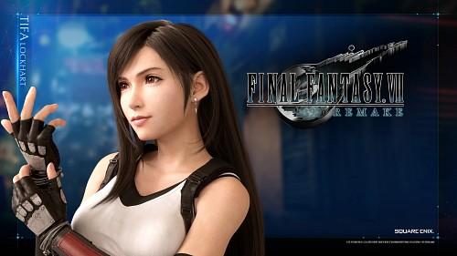 Square Enix, Final Fantasy VII, Tifa Lockhart, Official Wallpaper