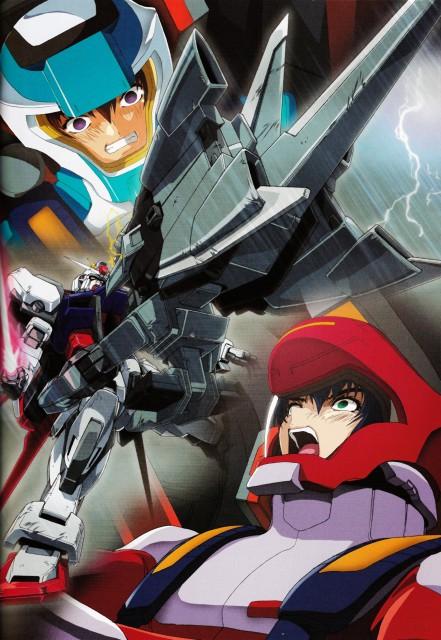 Hisashi Hirai, Sunrise (Studio), Mobile Suit Gundam SEED, Hisashi Hirai Illustration Works, Athrun Zala
