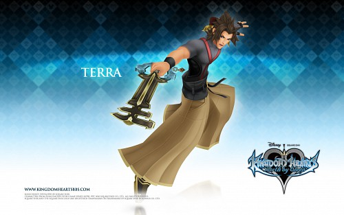 Square Enix, Kingdom Hearts, Terra, Official Wallpaper