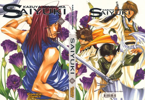 Kazuya Minekura, Studio Pierrot, Saiyuki, Sha Gojyo, Genjyo Sanzo