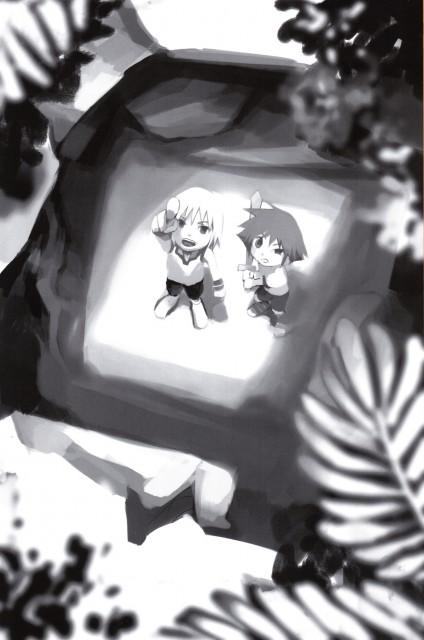 Shiro Amano, Art Works Kingdom Hearts, Kingdom Hearts, Riku, Sora
