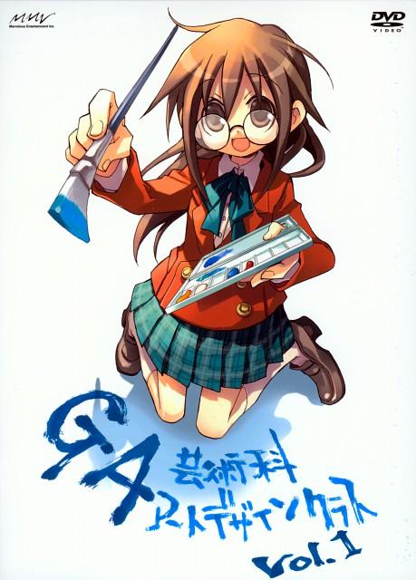 Satoko Kiyuzuki, Anime International Company, Ga Geijutsuka Art Design Class, Kisaragi Yamaguchi, DVD Cover