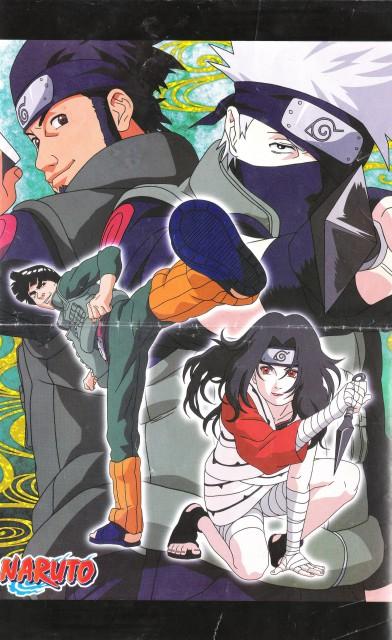 Studio Pierrot, Naruto, Asuma Sarutobi, Kakashi Hatake, Gai