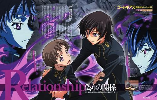 Takahiro Kimura, Shuji Sakamoto, Sunrise (Studio), Lelouch of the Rebellion, Rolo Lamperouge