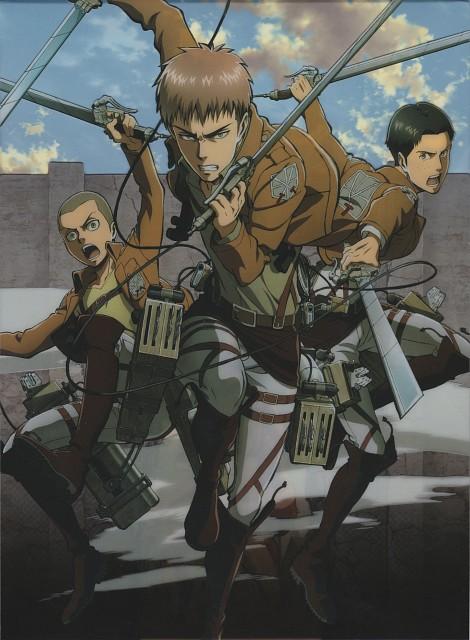 Hajime Isayama, Production I.G, Shingeki no Kyojin, Connie Springer, Marco Bodt