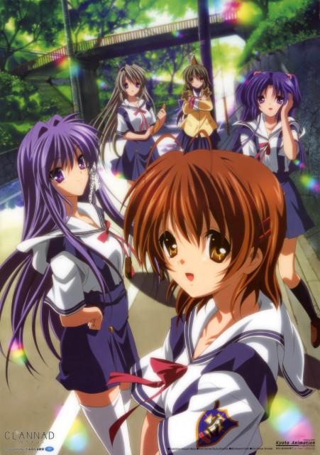 Kazumi Ikeda, Kyoto Animation, Clannad, Kyou Fujibayashi, Tomoyo Sakagami