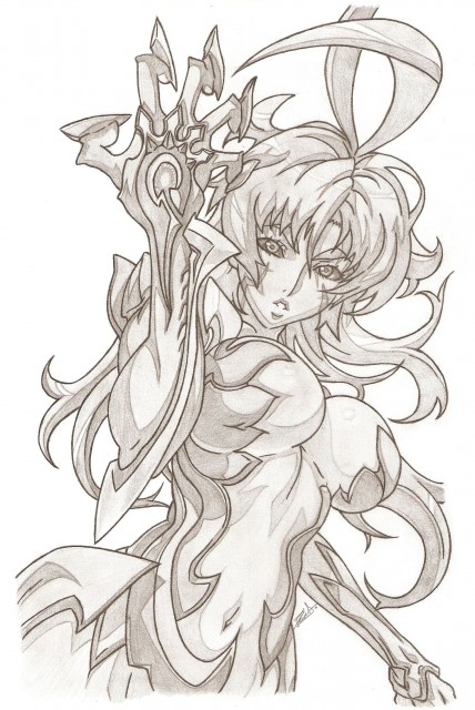 Witchblade, Masane Amaha, Member Art