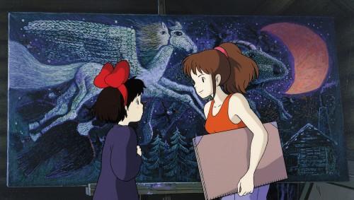 Studio Ghibli, Kiki's Delivery Service, Kiki Okino, Ursula (Kiki's Delivery Service)