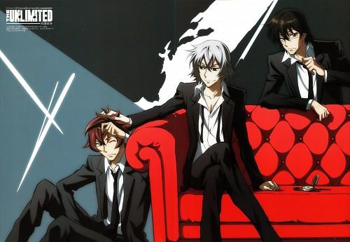 Manglobe, Zettai Karen Children: The Unlimited - Hyoubu Kyousuke, Andy Hinomiya, Kohichi Minamoto, Kyousuke Hyoubu