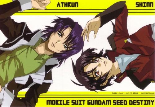 Sunrise (Studio), Mobile Suit Gundam SEED Destiny, Shinn Asuka, Athrun Zala