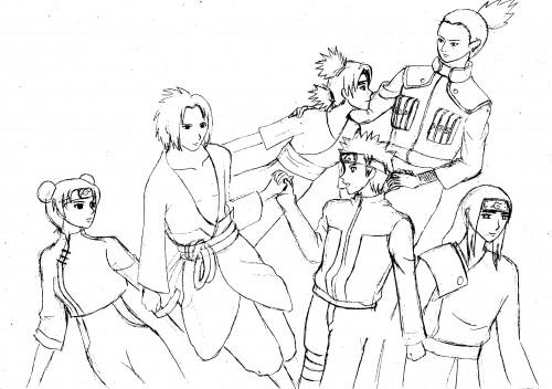 Masashi Kishimoto, Studio Pierrot, Naruto, Shikamaru Nara, Naruto Uzumaki