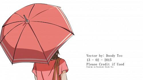 Ayuko Hatta, Ookami Shoujo to Kuro Ouji, Erika Shinohara, Vector Art