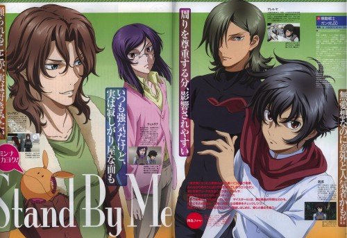 Mobile Suit Gundam 00, Lockon Stratos, Allelujah Haptism, Haro, Tieria Erde