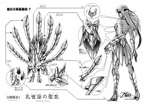 Chimaki Kuori, Saint Seiya: Saintia Shou, Peacock Mayura, Character Sheet
