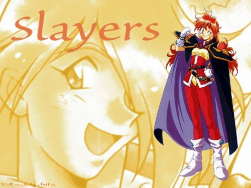 J.C. Staff, Slayers, Gourry Gabriev, Lina Inverse Wallpaper