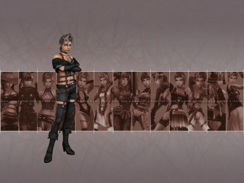 Square Enix, Final Fantasy X-2, Paine Wallpaper