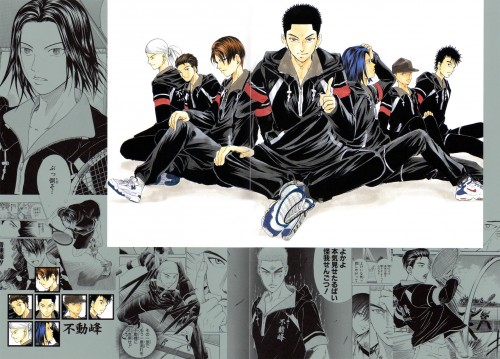 Takeshi Konomi, J.C. Staff, Prince of Tennis, Shinji Ibu, Masaya Sakurai