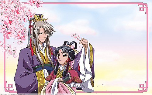 Kairi Yura, Madhouse, Saiunkoku Monogatari, Ryuuki Shi, Shuurei Kou Wallpaper
