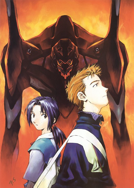 Yoshiyuki Sadamoto, Gainax, Neon Genesis Evangelion, Die Sterne, Toji Suzuhara