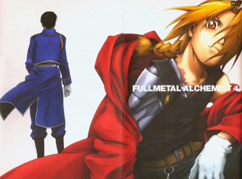 BONES, Fullmetal Alchemist, Roy Mustang, Edward Elric, DVD Cover