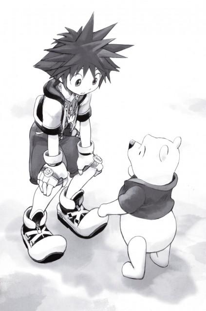 Shiro Amano, Art Works Kingdom Hearts, Kingdom Hearts, Winnie The Pooh, Sora