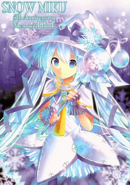 Snow Miku 5th Anniversary Memorial Book