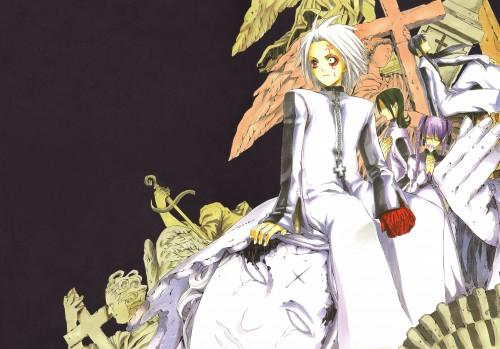 Katsura Hoshino, D Gray-Man, Noche - D.Gray-man Illustrations, Lenalee Lee, Komui Lee