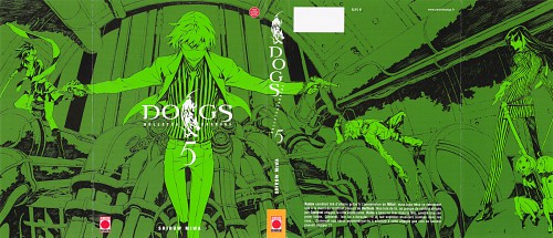 Miwa Shirow, Dogs: Bullets and Carnage, Luki & Noki, Giovanni, Haine Rammsteiner