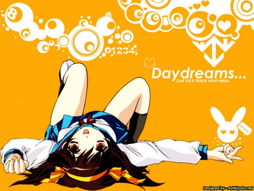 Noizi Ito, Kyoto Animation, The Melancholy of Suzumiya Haruhi, Haruhi Suzumiya Wallpaper
