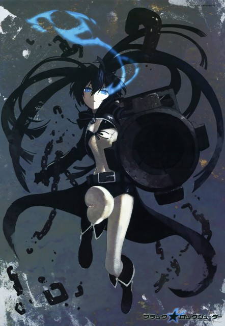 huke, Black Rock Shooter, Black Rock Shooter (Character)