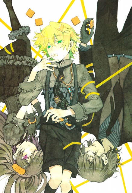 Jun Mochizuki, Xebec, Pandora Hearts, Pandora Hearts ~there is~, Gilbert Nightray