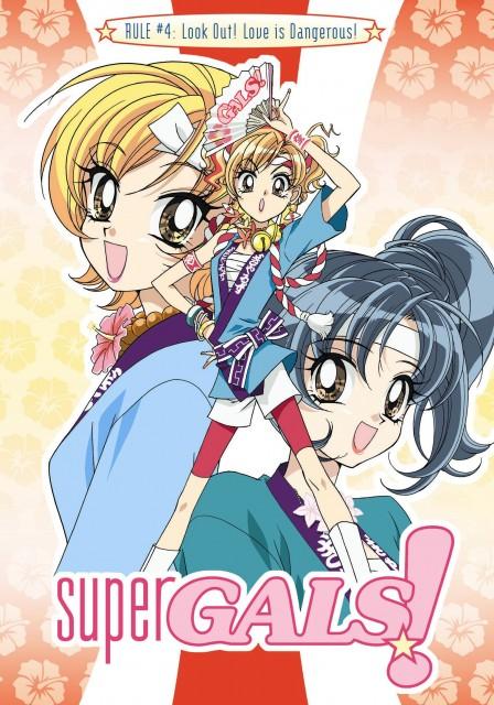 Studio Pierrot, Gals!, Ran Kotobuki, Miyu Yamazaki, Aya Hoshino