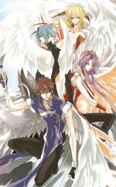 Sakura Asagi, Saint Beast, Rei (Saint Beast), Goh (Saint Beast), Gai (Saint Beast)