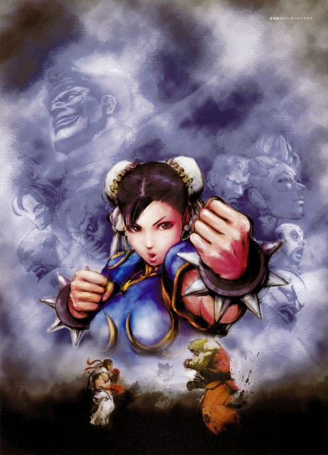 Capcom, Street Fighter, Chun-Li, Ryu, Ken Masters