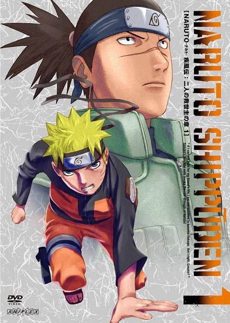 Studio Pierrot, Naruto, Naruto Uzumaki, Iruka Umino, DVD Cover