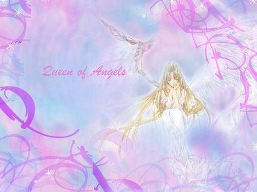 Aoi Nanase, Angel Dust, Seraph (Angel Dust) Wallpaper