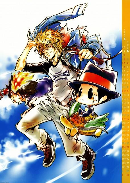 Akira Amano, Artland, Katekyo Hitman Reborn!, Dino Cavallone, Leon (Katekyo Hitman Reborn!)