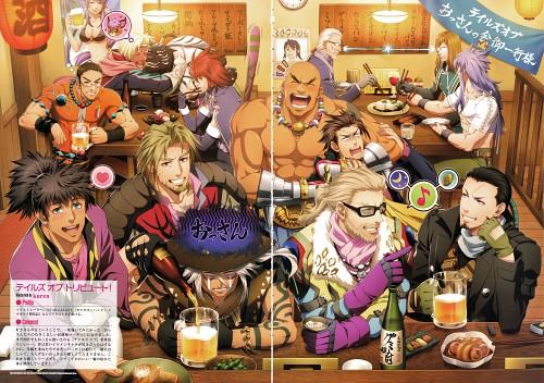 Kousuke Fujishima, Mutsumi Inomata, Namco, Tales of Rebirth, Tales of Xillia 2