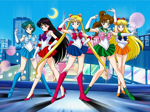 Marco Albiero, Bishoujo Senshi Sailor Moon, Sailor Jupiter, Sailor Mars, Sailor Mercury