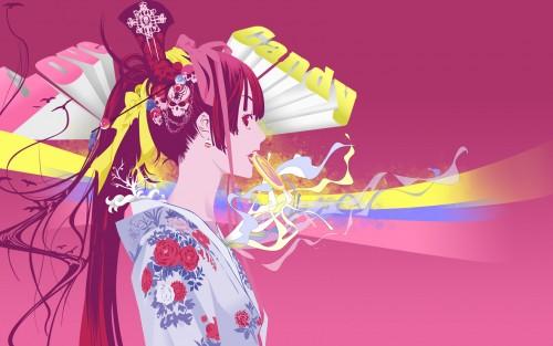 Oh! Great, Tenjou Tenge, Aya Natsume Wallpaper