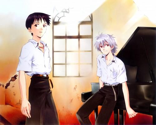 Gainax, Neon Genesis Evangelion, Kaworu Nagisa, Shinji Ikari, Doujinshi