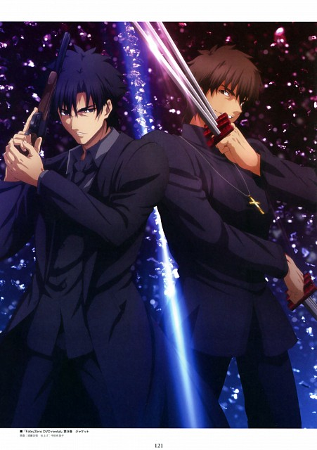 TYPE-MOON, Ufotable, Fate/Zero, Fate/Zero Animation Visual Guide II, Kirei Kotomine