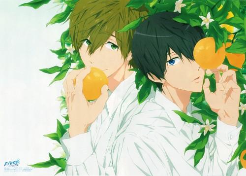 Kyoto Animation, Free!, Makoto Tachibana, Haruka Nanase (Free!), spoon.2Di
