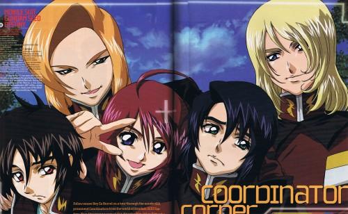 Hisashi Hirai, Sunrise (Studio), Mobile Suit Gundam SEED Destiny, Rey Za Burrel, Lunamaria Hawke