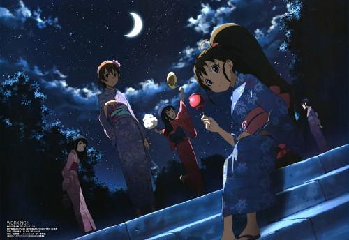 Shingo Adachi, A-1 Pictures, Working!!, Nazuna Takanashi, Poplar Taneshima