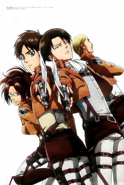 Hajime Isayama, Production I.G, Shingeki no Kyojin, Eren Yeager, Erwin Smith