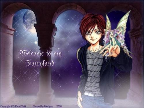 Kaori Yuki, Fairy Cube, Ainsel, Hasumi Ian Wallpaper