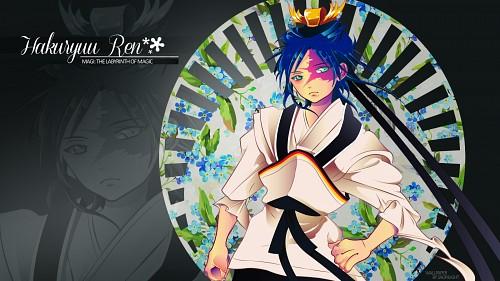 Shinobu Ohtaka, A-1 Pictures, MAGI: The Labyrinth of Magic, Hakuryuu Ren Wallpaper